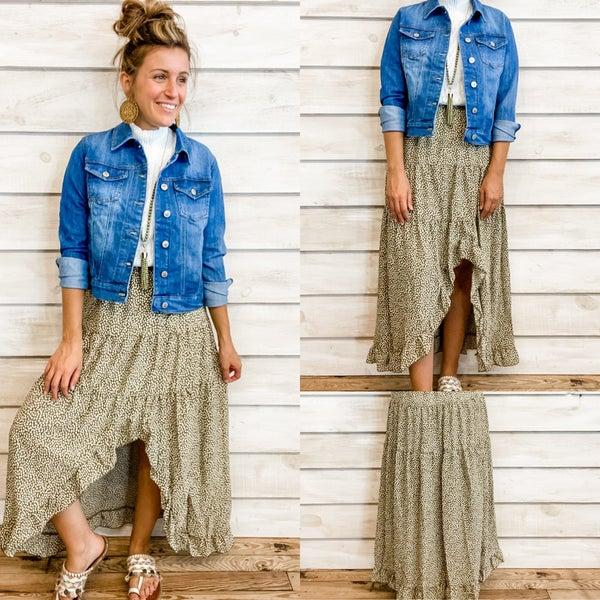 Fall Boho Skirt *Final Sale*