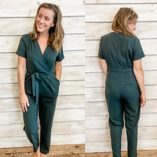 Jumpsuit with Tie Waist *Final Sale*
