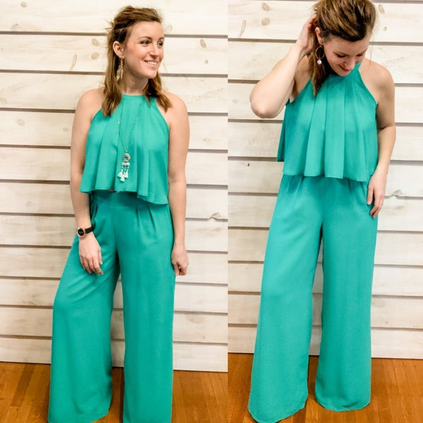 Jade Two Piece Pant and Tank Set