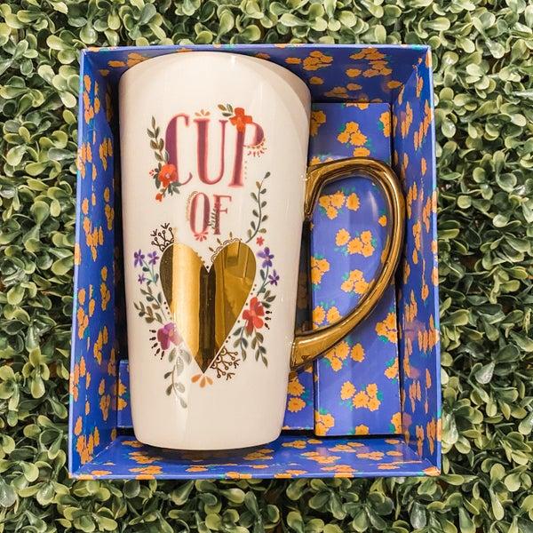 Cup of Love Latte Mug *Final Sale*