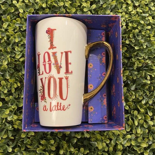 I Love You a Latte Mug *Final Sale*