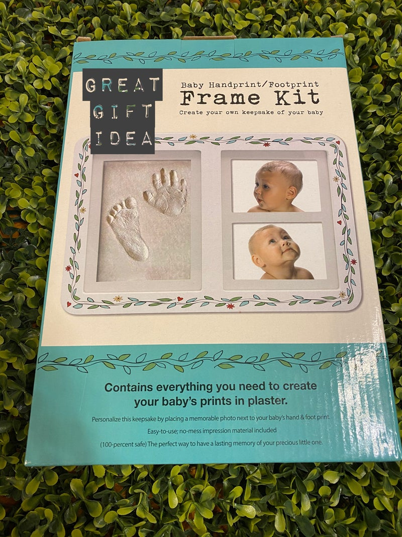 Baby Handprint/Footprint Frame Kit *Final Sale*