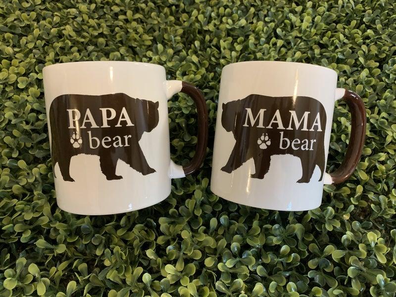 Mama and Papa Bear Mug Set *Final Sale*