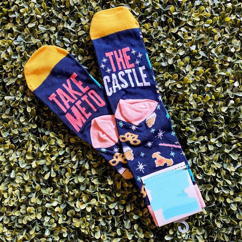 Take Me to the Castle Socks