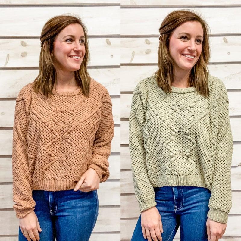 Cozy Textured Sweater