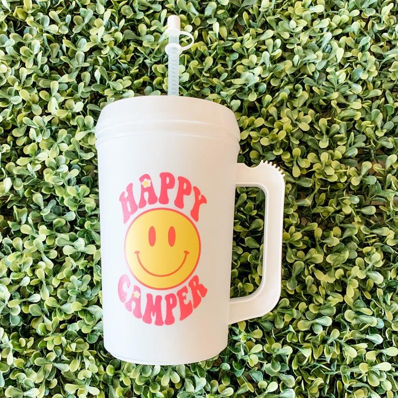 22 oz Happy Camper Thermal Drinking Jug
