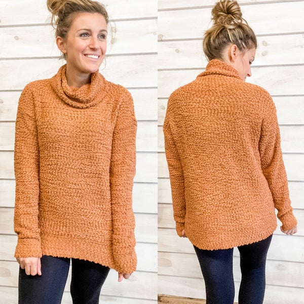 Pumpkin Popcorn Knit Sweater