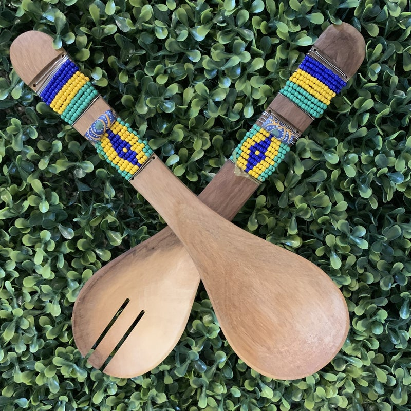Grain of Rice Decorative Wooden Spoon Set *Final Sale*