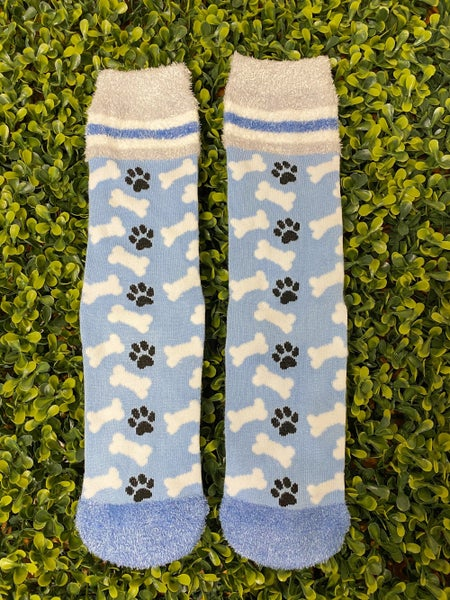 Paw Print Socks *Final Sale*