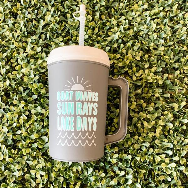 22 oz Lake Days Thermal Drinking Jug