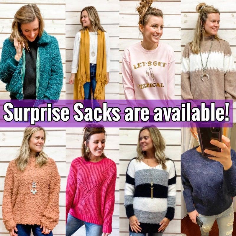 Surprise Sacks *Final Sale*