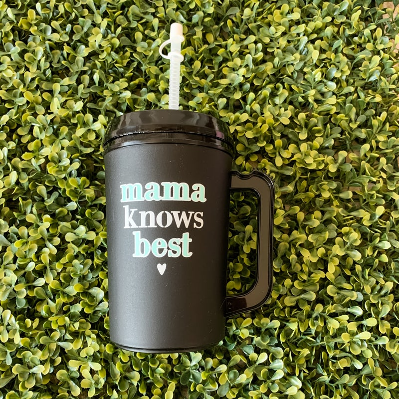 22 oz Mama Knows Best Thermal Drinking Jug