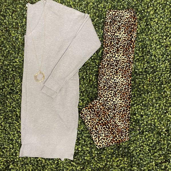 Super Soft Cheetah Print Leggings *Final Sale*