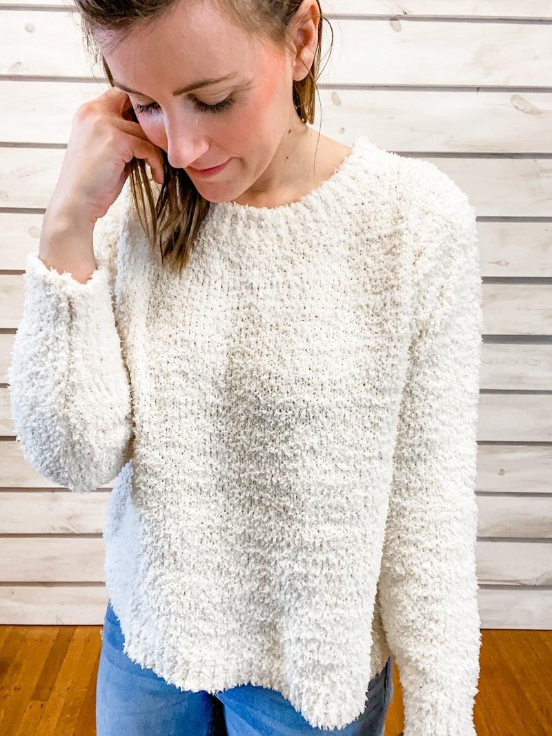 Unbelievably Cozy Cream Sweater