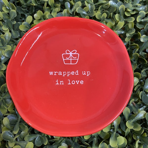 Wrapped Up in Love Dish *Final Sale*