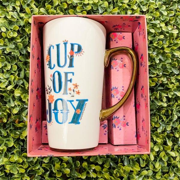 Cup of Joy Latte Mug *Final Sale*