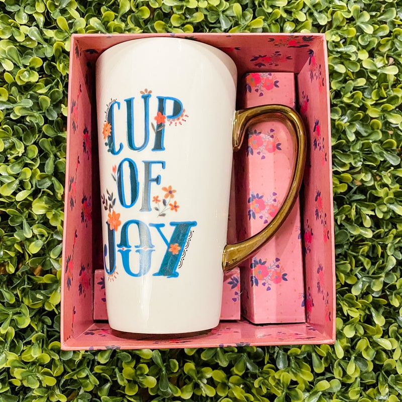 Cup of Joy Latte Mug *Final Sale*