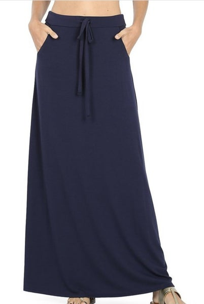The Classic Maxi Skirt (3 colors)