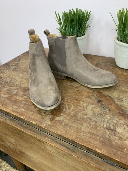 Suede Ankle Boot *Final Sale*