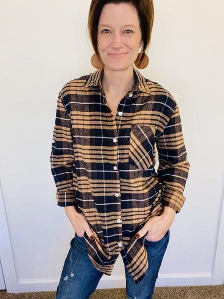 The Plaid Flannel Button Down *Final Sale*