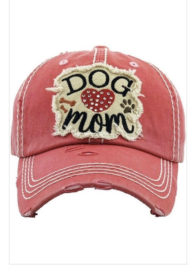Dog / Cat Mom Baseball Cap