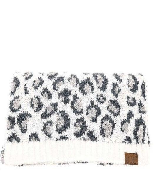 Snow Leopard C.C. Scarf *Final Sale*