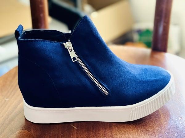 Blue Skies Mid Top Sneaker *Final Sale*