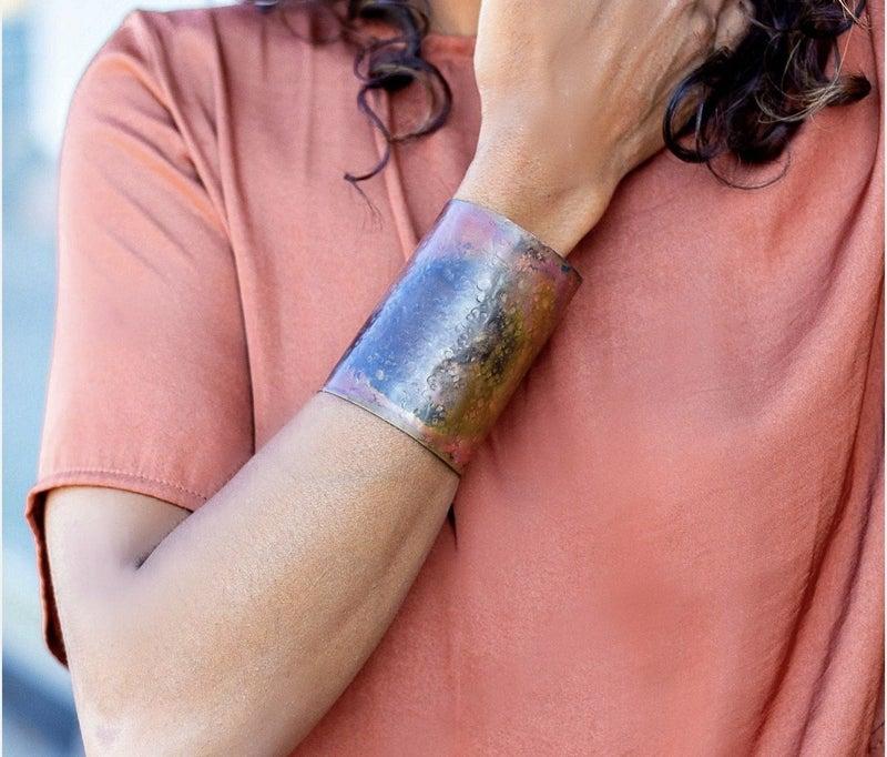 Patina Cuff Bracelet