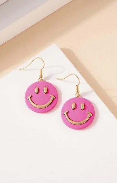 Smiley Face Earring