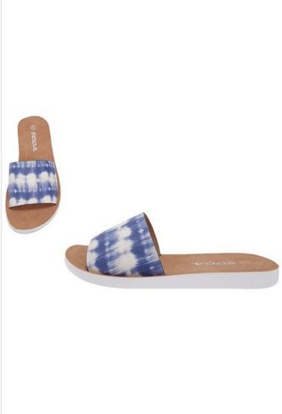 Tie Dye Hippy Sandal *Final Sale*