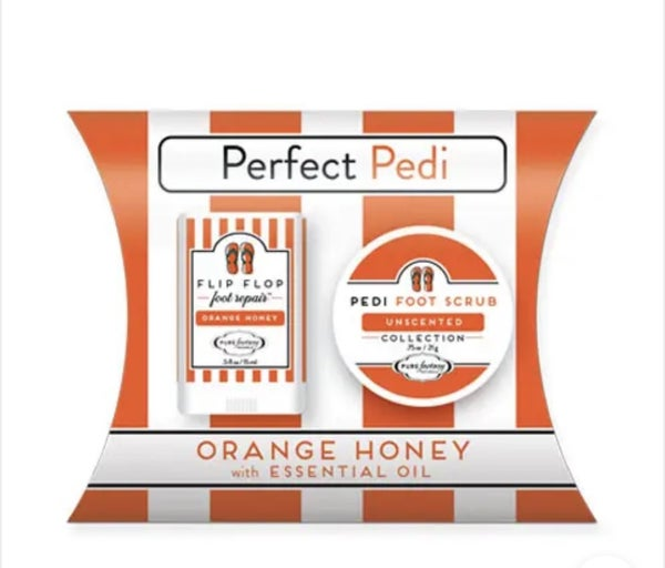 The Perfect Pedi Gift Pouch  (3 scents)