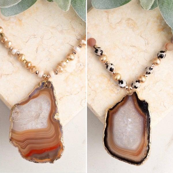 The Santa Rosa Stone Necklace