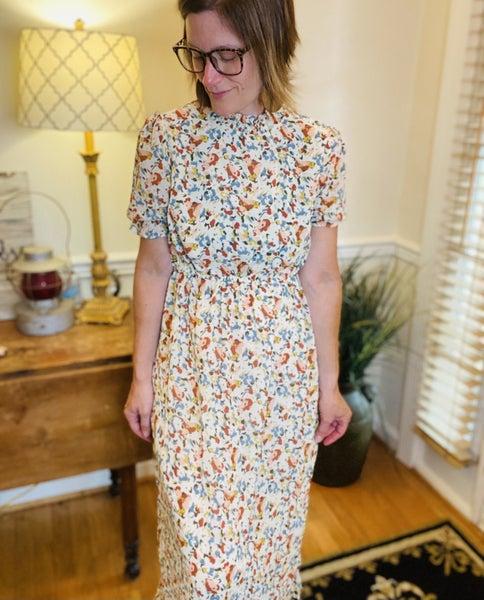 Ladies Breezy Day Smocked Dress
