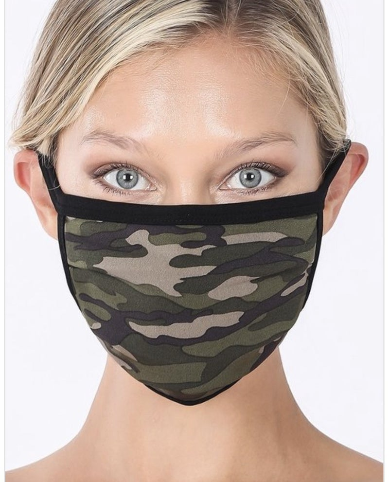 Reusable Face Covering (10 colors) *** New Colors Added