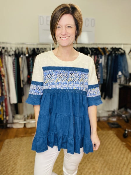 Embroidered Tunic by Easel