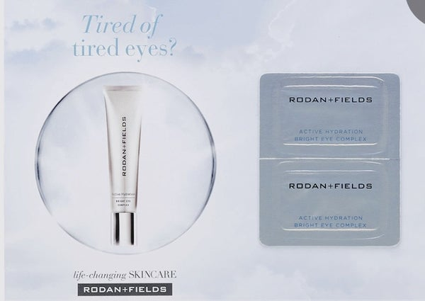 Rodan and Fields Active Hydration Bright Eye Complex (2 pack sample)***RESTOCKED***