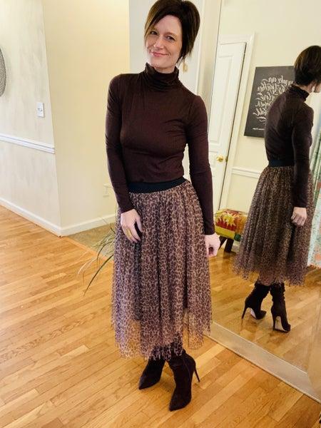 Leopard Ballerina Skirt *Final Sale*