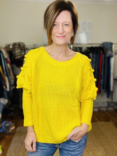 Sunshine Poppy Sweater *Final Sale*