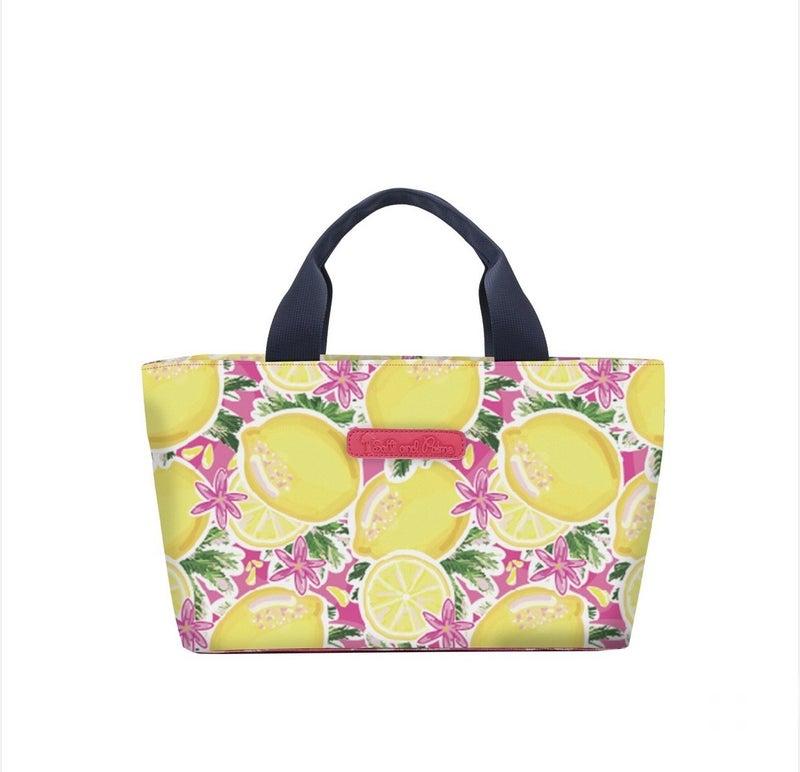 Lemons Lunch Bag Tote Set