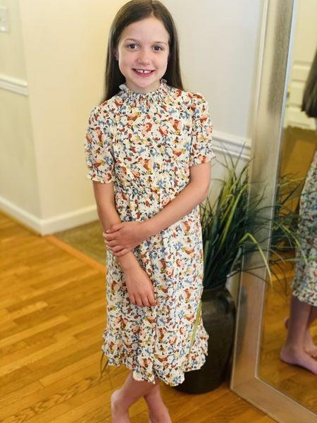 Girls Breezy Day Smocked Dress