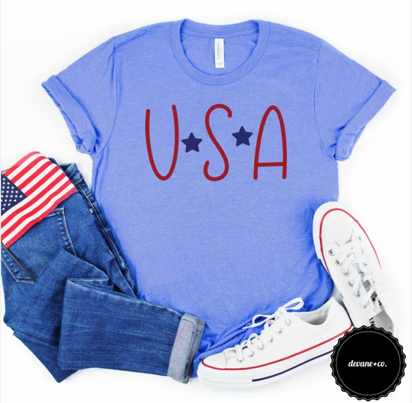 4th of July Graphic Tee