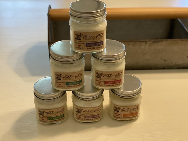 Wicks for Wags Natural Soy Candles