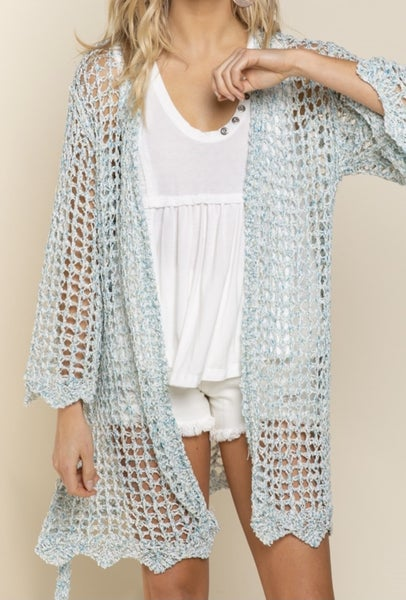 The Scallop Weave Cardigan