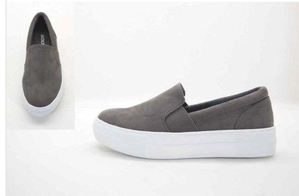 Grey Skies Suede Sneaker