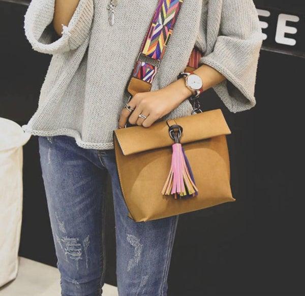 Tassel Crossbody Bag (2 colors)