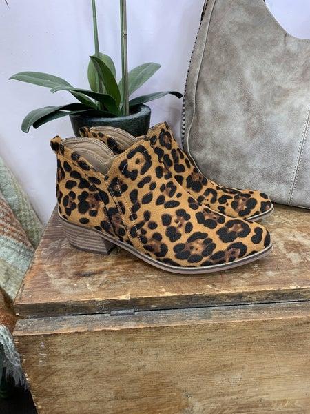 Cheetah Print  Ankle Boot *Final Sale*