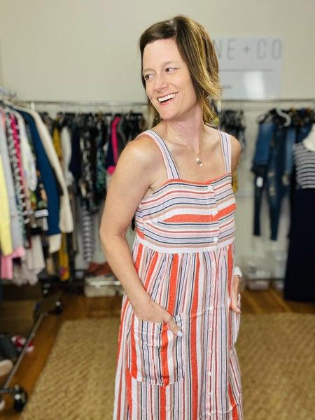 Seaside Stripe Dress