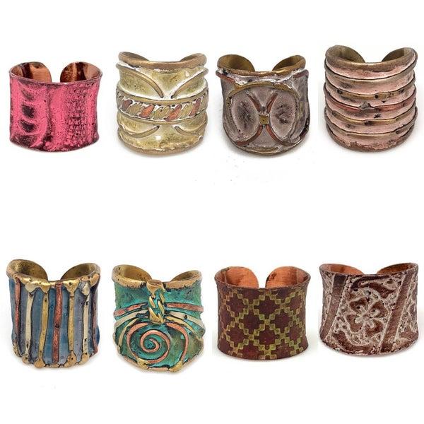 DeVane + Co. Cuff Rings