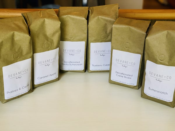 DeVane+ Co Gourmet Coffee (18 flavors)