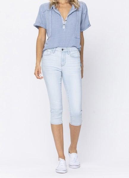 Judy Blue Ultra Light Capri Jean